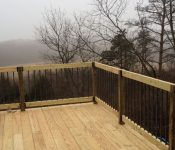 Upper Level Deck