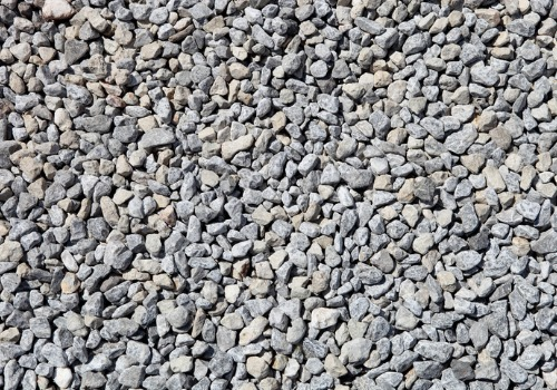 Crushed rocks, as part of Landscape Products in Peoria IL