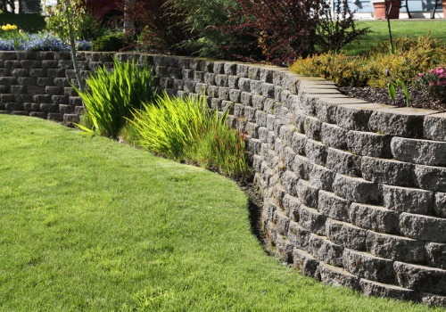 Landscaping with Retaining Walls in Peoria IL